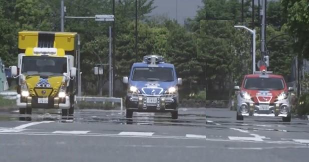Les nouveaux Bioman roulent dans de surprenantes Nissan