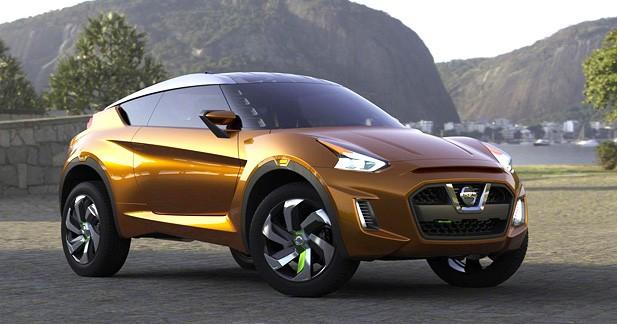 Nissan Extrem concept : Étude de style tropicale