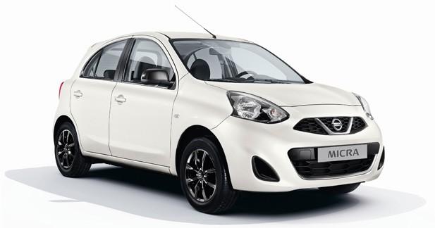 Nissan Micra Design Edition: série limitée pour l'été