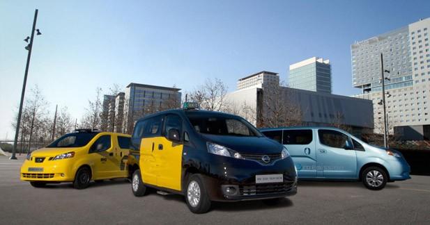 Au tour de Barcelone d'adopter le Nissan NV200 comme taxi