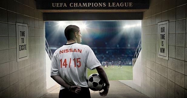 Nissan partenaire de la Ligue des Champions pour quatre ans
