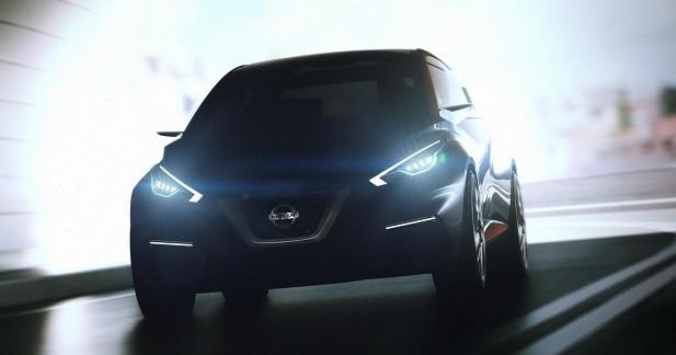 Nissan Sway: un aperçu de la nouvelle Micra ?