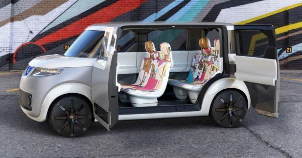 Nissan Teatro for Dayz: réseau social sur roues