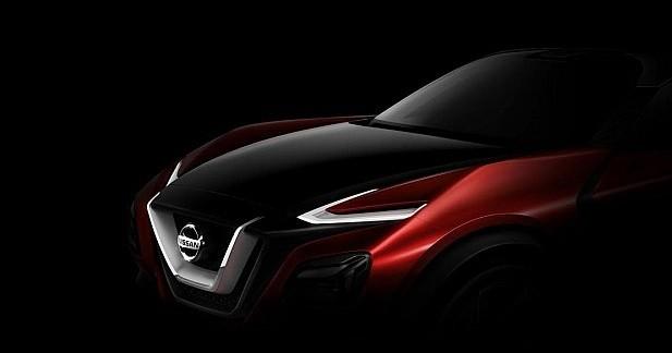 Le futur Nissan Juke préfiguré à Francfort