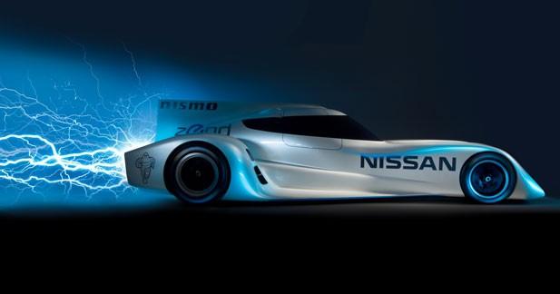 ZEOD RC : le proto électrifié de Nissan pour le Mans 2014