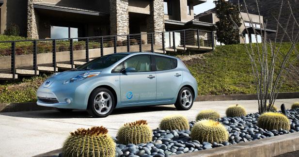 Partenariat Nissan-Hertz : louée soit la Leaf