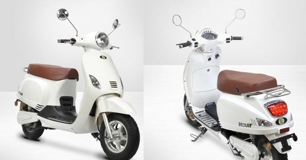 Noun, le scooter SC électrique abordable
