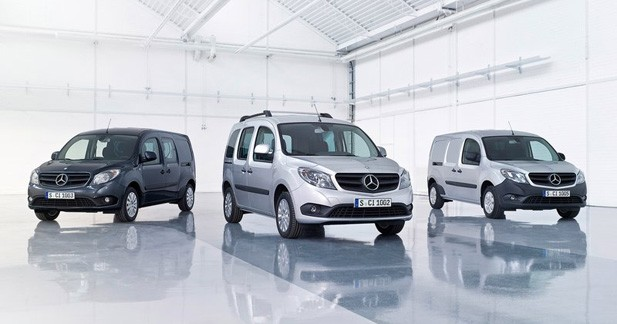 Mercedes rappelle 3.500 exemplaires de son Citan