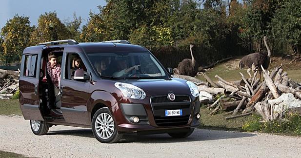 Nouveau Fiat Doblo : à partir de 15 150 euros