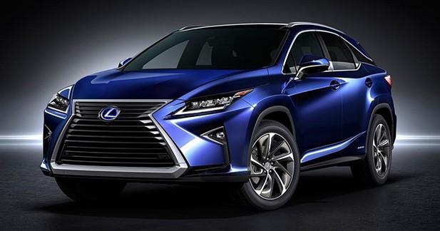 Lexus RX : la génération X s'enrichit