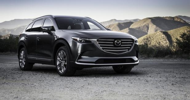Nouveau Mazda CX-9: maintenant avec un 4-cylindres turbo