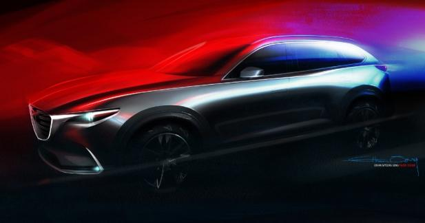 Le nouveau Mazda CX-9 sera au salon de Los Angeles