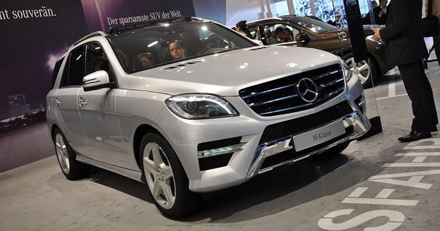 Nouveau Mercedes Classe M : Plus affûté