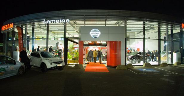 Nissan ouvre une nouvelle concession à Saint Omer