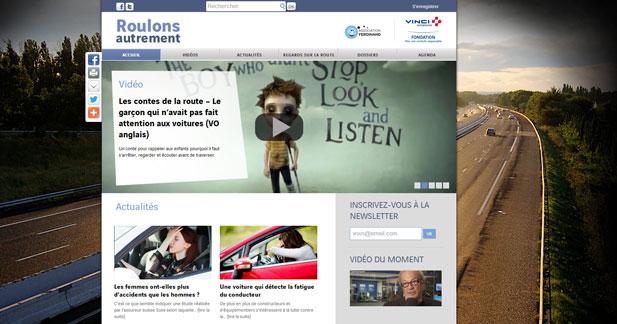 Roulons autrement : des vidéos pour parler autrement de sécurité routière