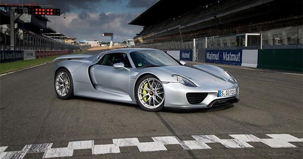 La Porsche 918 Spyder bat le record du tour sur le circuit Bugatti du Mans
