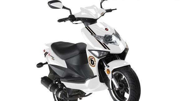 Nouveau Scooter Mash Bibop 50
