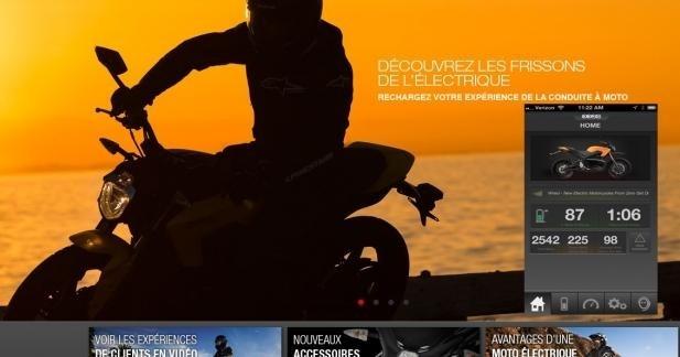 Nouveau site web et appli Zero Motorcycles