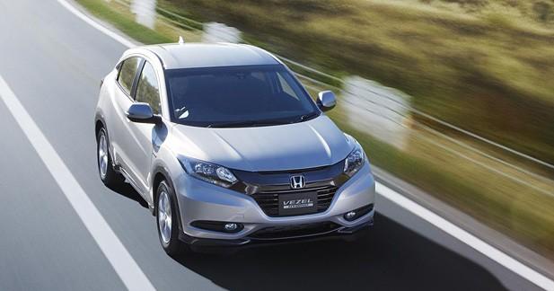 Nouveau Honda Vezel : le Juke donne des idées à Honda