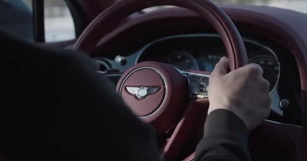 L'habitacle du Bentley Bentayga se montre dans une vidéo officielle