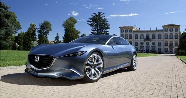La Mazda Shinari sera bien à Los Angeles