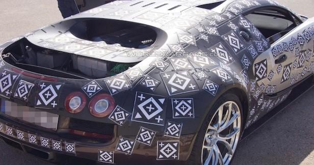 Bugatti teste la remplaçante de la Veyron