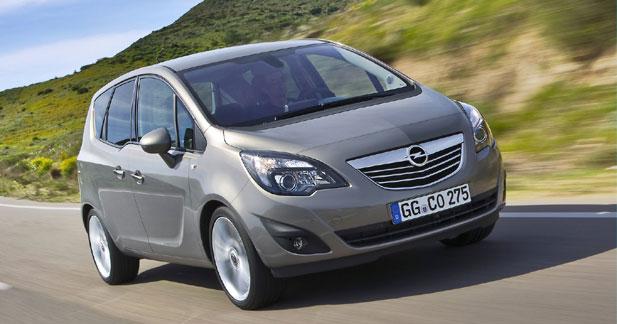 Nouvel Opel Meriva : plus de 30 000 pré-commandes
