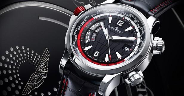 Jaeger-Lecoultre et Aston Martin créent un nouveau garde-temps