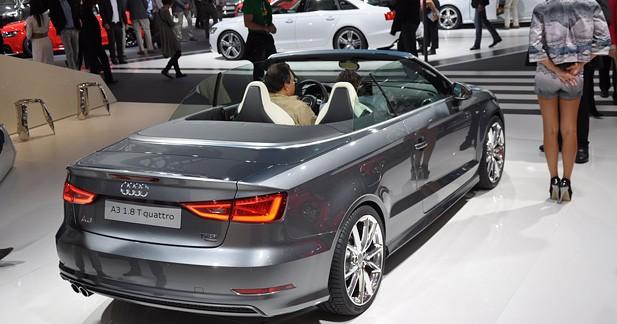 Premier contact avec l'Audi A3 Cabriolet