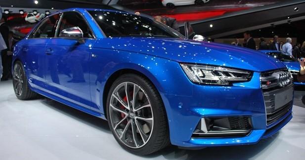 Nouvelle Audi S4: changement de suralimentation