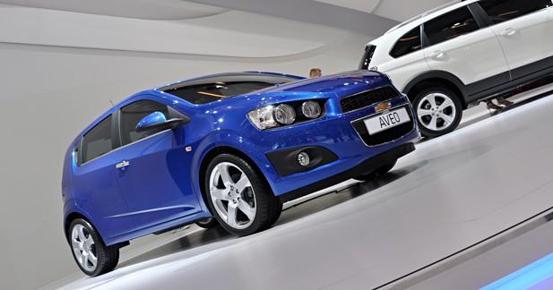 Nouvelle Chevrolet Aveo : à l'assaut de l'Europe