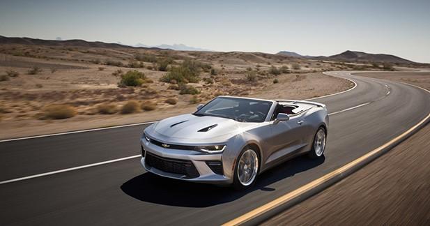 Officiel : la Chevrolet Camaro retire le haut !