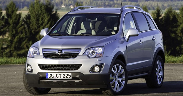 Opel Antara : restylage et nouveau diesel