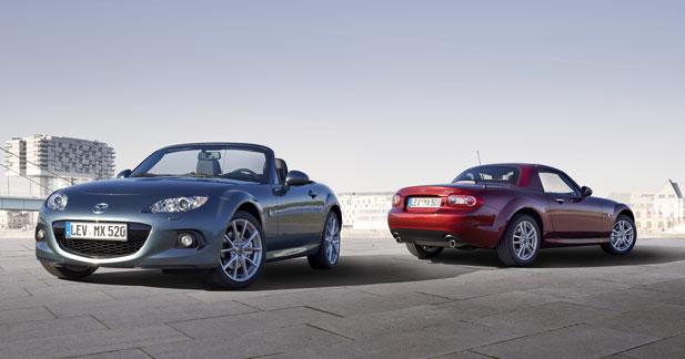 Mazda MX-5 restylée : plus agile et plus sûre