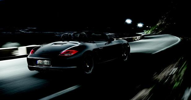 Un Bosxter S au noir chez Porsche