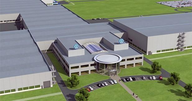 Nouvelle usine Volkswagen dans le Tennessee