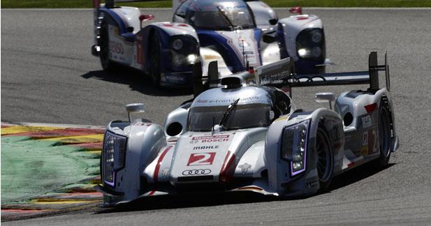 Un triplé pour l'Audi R18 e tron quattro à Spa