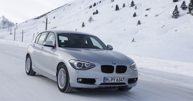 Les BMW 118d et 318d passent à l'intégrale