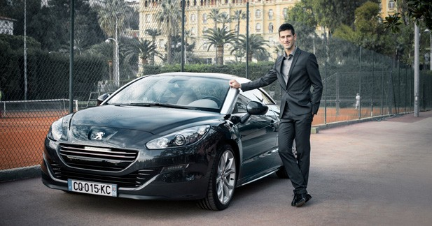 Peugeot s'offre Novak Djokovic comme ambassadeur