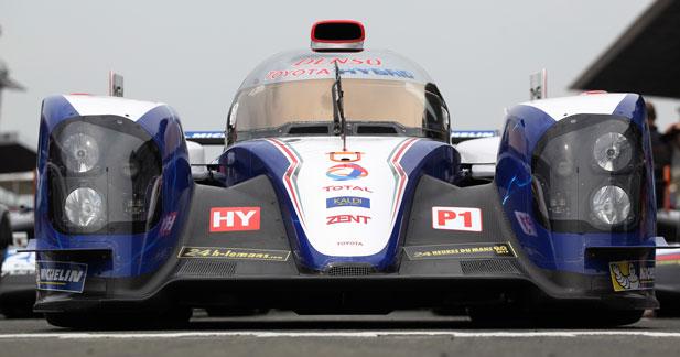 Toyota ne vient pas faire de la figuration au Mans