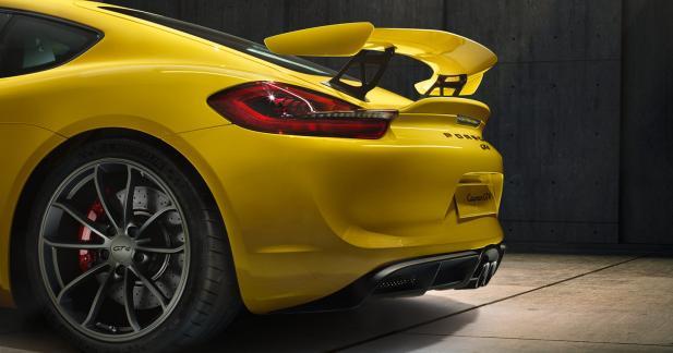 Porsche annonce l'arrivée d'un Cayman GT4 Clubsport