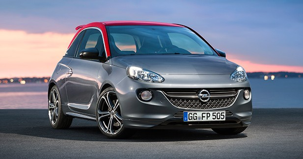 L'Opel Adam S coûtera 18 900 euros