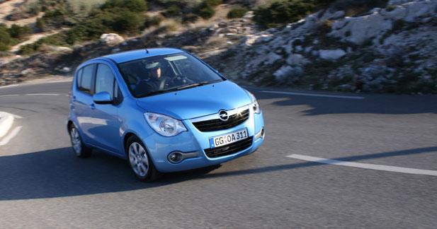 Opel Agila : madame est servie