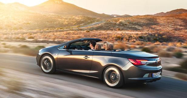 L'Opel Cascada disponible à partir de 29 990 euros