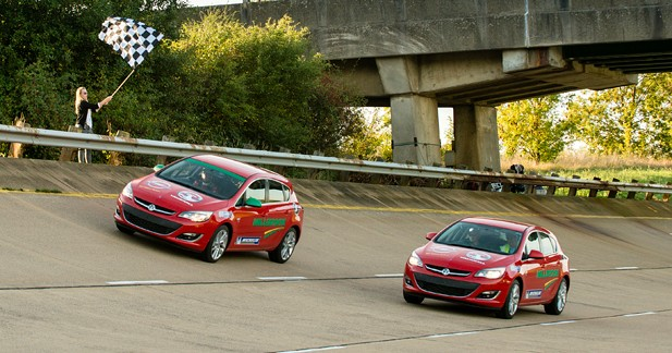 Opel s'attaque à 12 records du monde avec son 2.0 CDTI