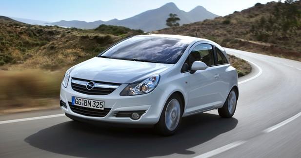 Les Opel Corsa et Agila reçoivent le Start/Stop
