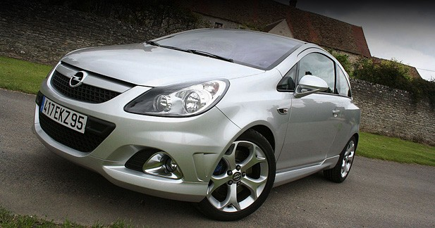 "Opel Corsa OPC : ""come on !!"""