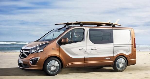 Opel Vivaro Surf Concept: les Beach Boys vont l'adorer