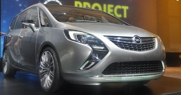Opel Zafira Tourer : Faux concept