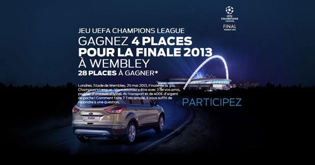 Ford offre des places pour la finale de la Ligue des Champions